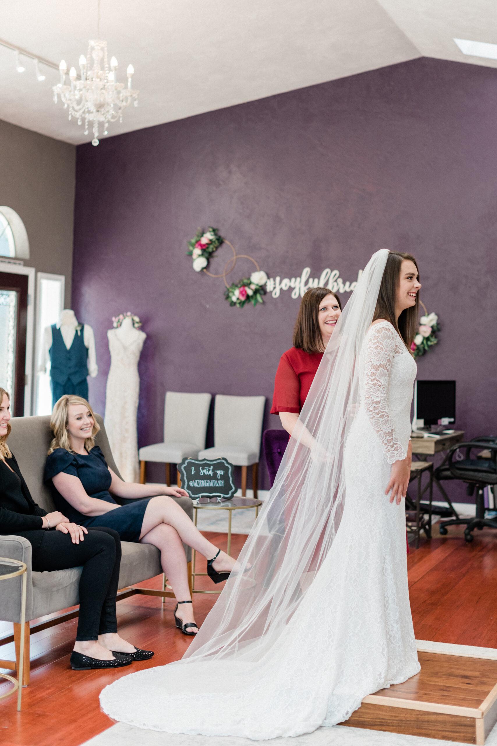 Wedding dress boutique shop owner.